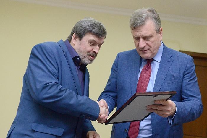 Писатель Николай Пересторонин получил премию имени А.И. Герцена