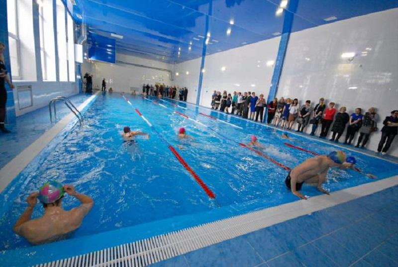 В Верхнекамском районе построен 25-метровый плавательный бассейн