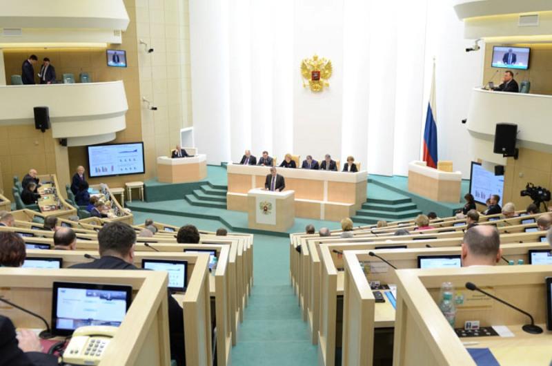 Игорь Васильев выступил перед членами Совета Федерации