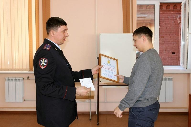 Кировский первокурсник спас человека