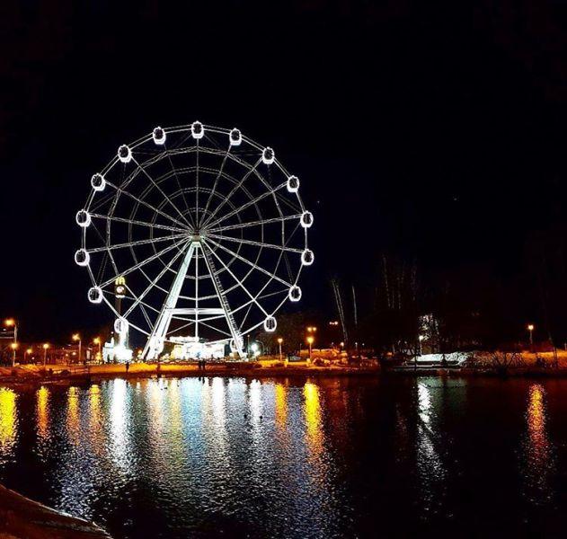 В честь открытия колеса обозрения в Кирове будет запущен фейерверк