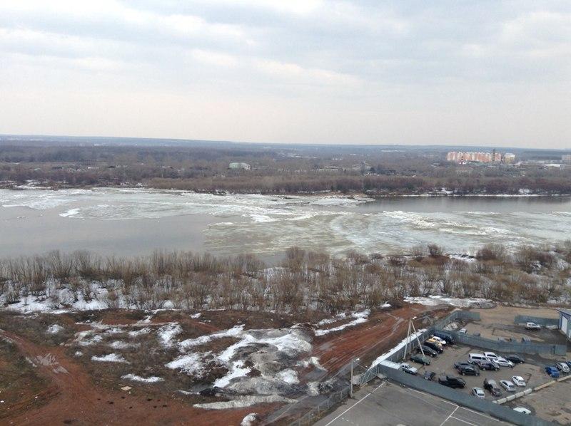 На Вятке начался ледоход (+ФОТО)