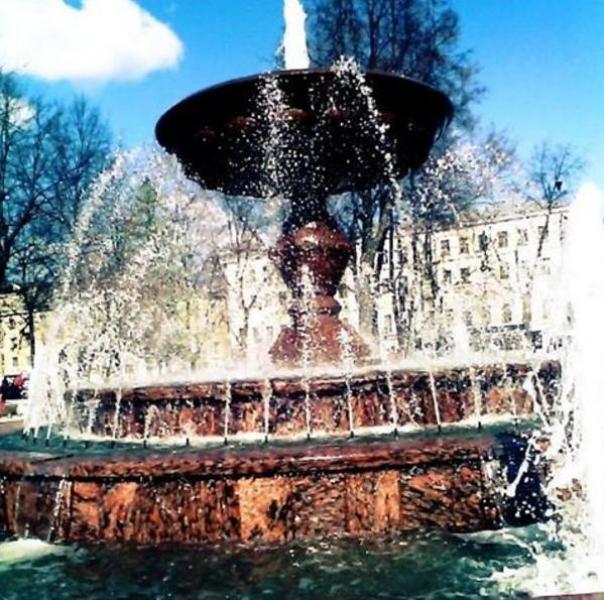 1мая вКирове заработают фонтаны