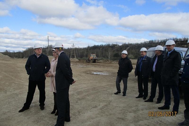 В нашем регионе впервые будут производить порошок для строительства дорог