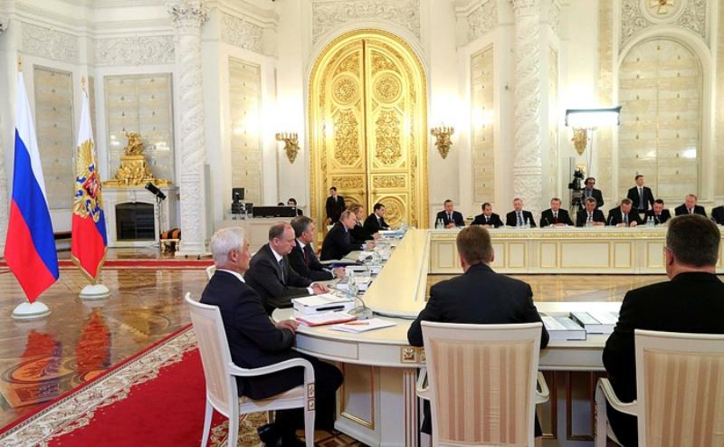 Игорь Васильев принял участие в заседании при президенте РФ