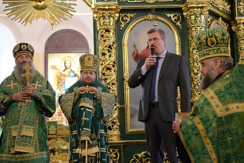 Игорь Васильев посетил яранский Троицкий собор