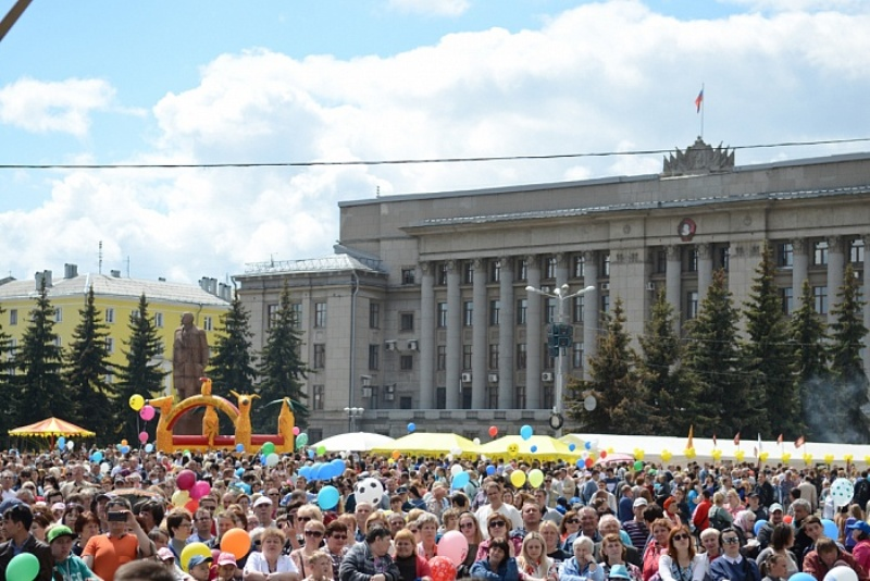 Игорь Васильев принял участие в празднике, посвященном Дню города