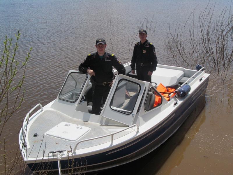 В Кировской области появился полицейский скоростной патрульный катер