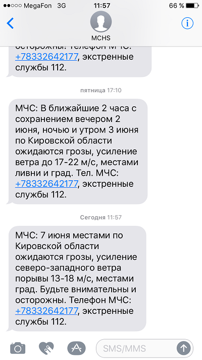 К вечеру в Кировской области резко ухудшится погода