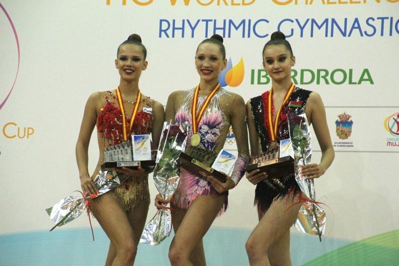 Кировская гимнастка завоевала сразу три золотых медали