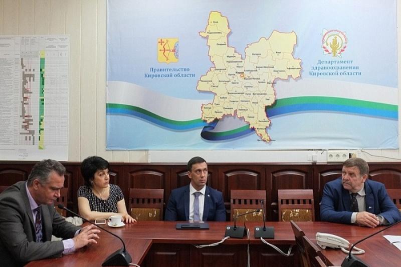 Делегация минздрава РФ высоко оценила достижения кировской медицины