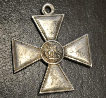 В Юрьянском районе на картофельном поле найден Георгиевский крест