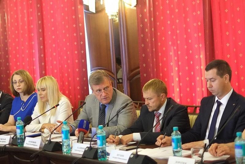 В  региональном правительстве обсудили вопросы, волнующие кировских предпринимателей