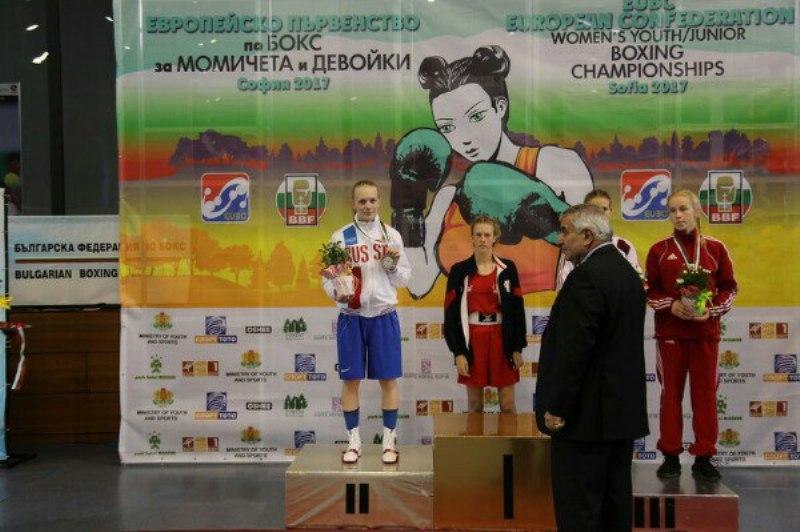Кировчанка взяла «серебро» на первенстве Европы по боксу