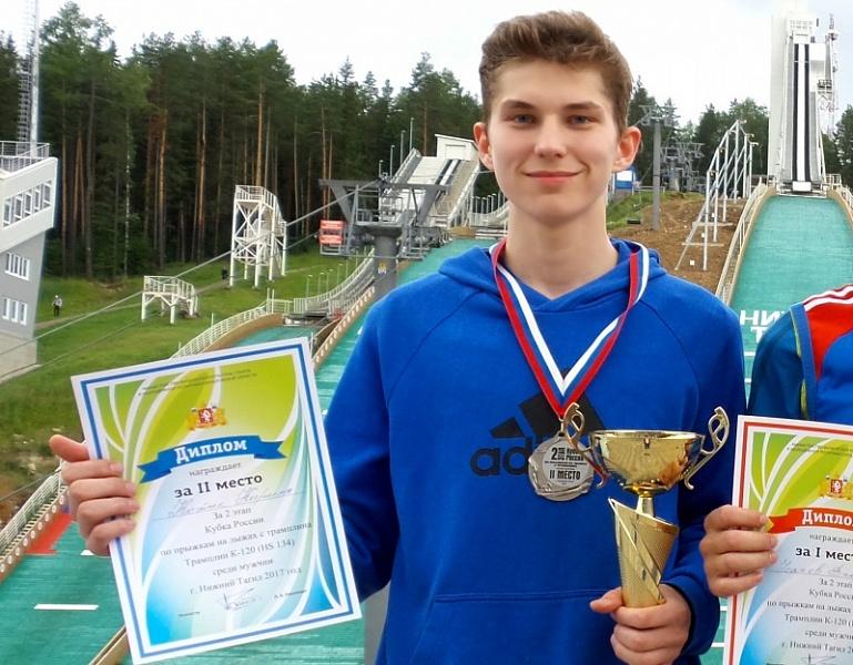 Кировские летающие лыжники завоевали два вторых места на всероссийских стартах