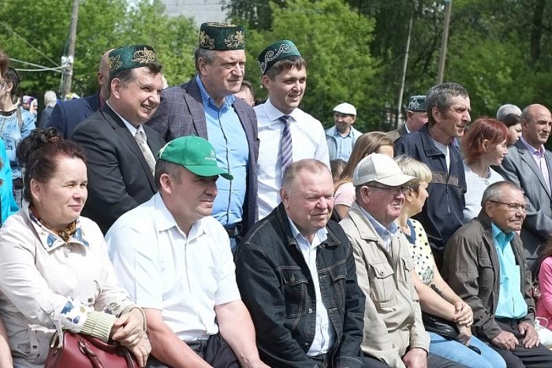 Сабантуй в Вятскополянском районе собрал более семи тысяч гостей
