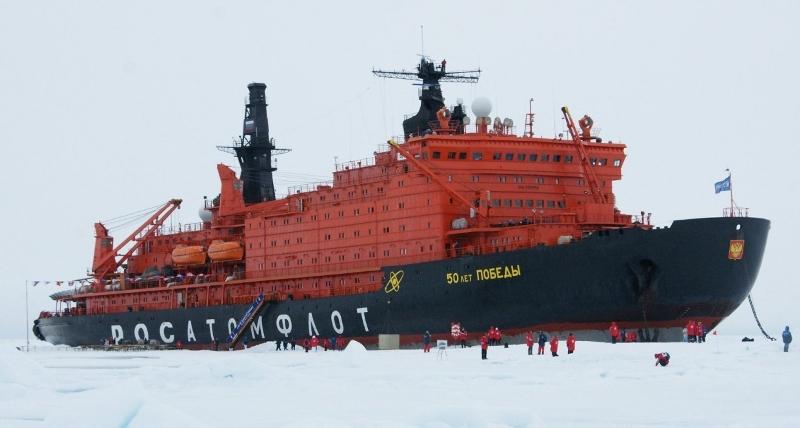 40 лет назад ледокол «Арктика» достиг Северного полюса