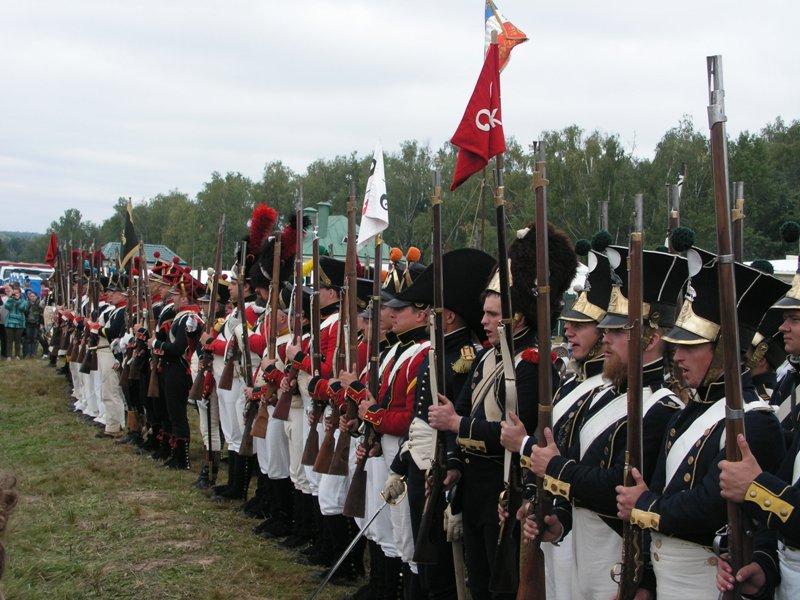 Гренадеры Вятского пехотного полка участвовали в реконструкции знаменитой баталии (+ФОТО)