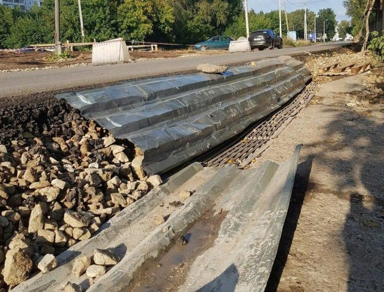 На трассе Киров - Русское дорожные работы подходят к завершению