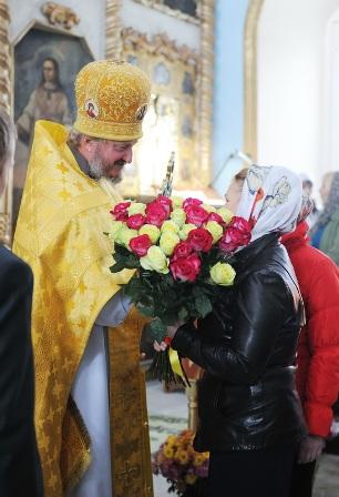 Для службы открылся главный придел храма в с. Быстрица