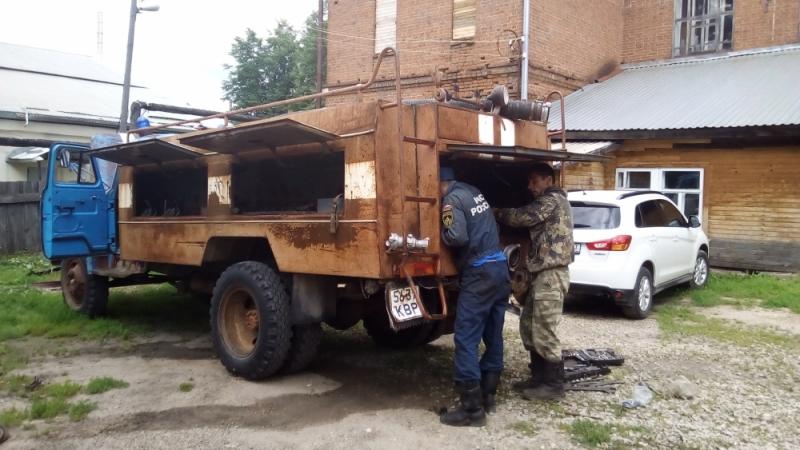 """""""Тачку на прокачку"""" в деревне Кожа: для тушения пожаров восстановили старый ГАЗ-53 (+ФОТО)"""