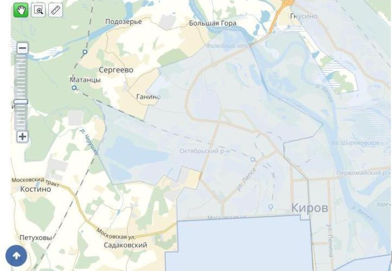 Самый крупный район Кирова отметит в четверг 55-летие