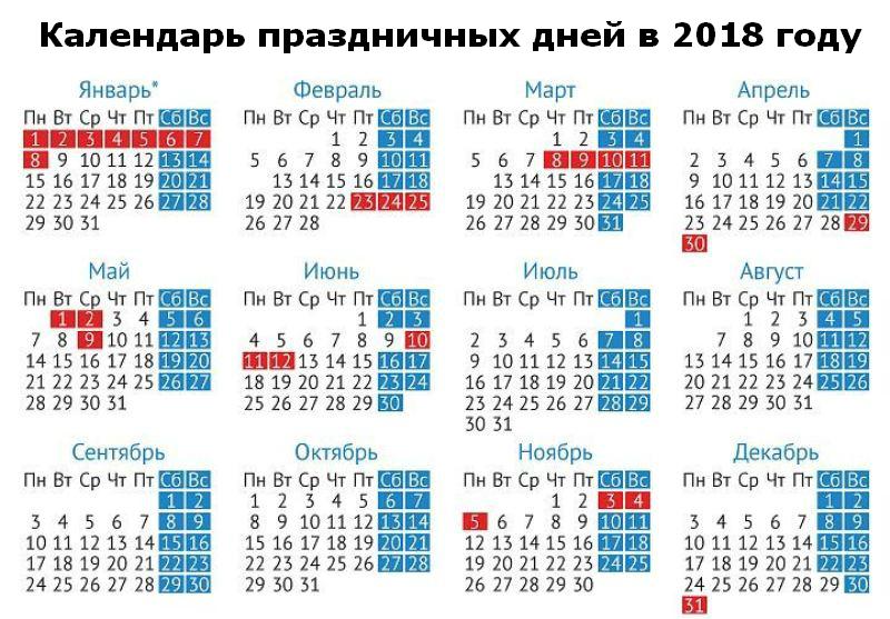 Россиян ждут 10 дней новогодних каникул