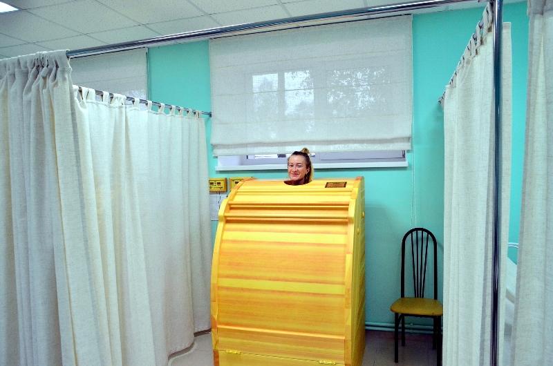 В санатории-профилактории «Перекоп» открылся новый корпус