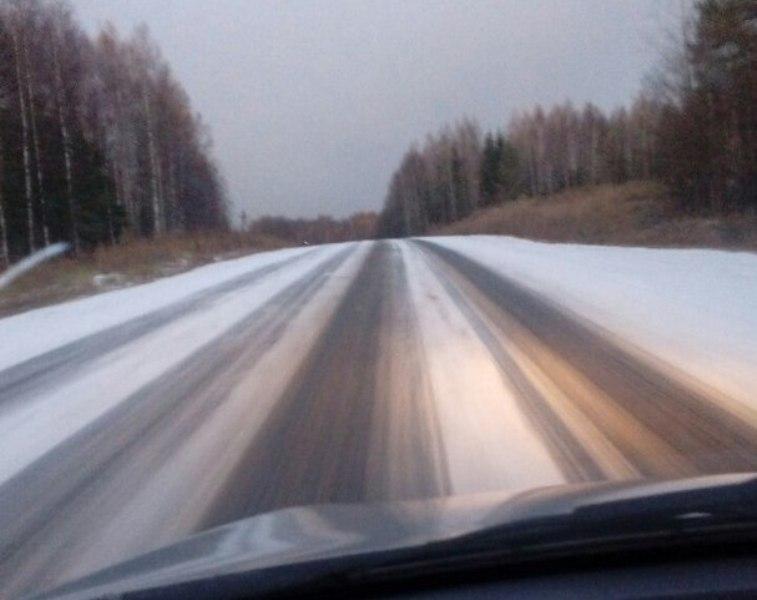 В Кировской области выпал первый снег (+ФОТО)