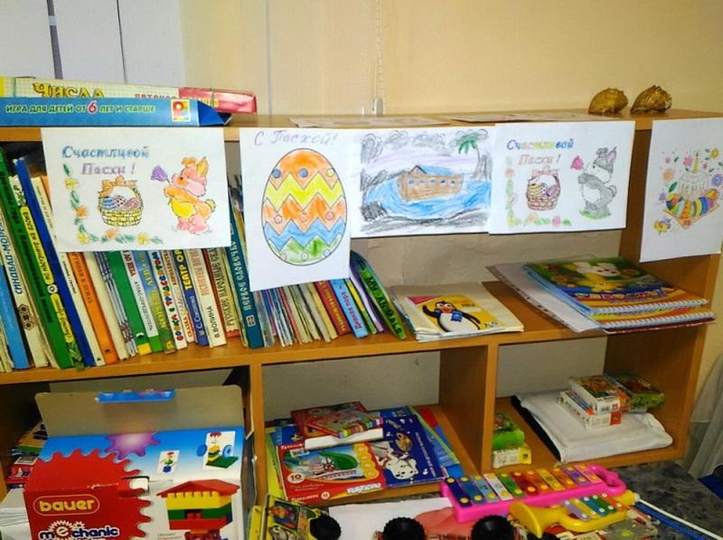В Спасском соборе открывается детская комната