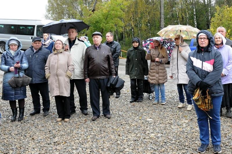 Владыка освятил главную часовню «Смоленцевского ключа»