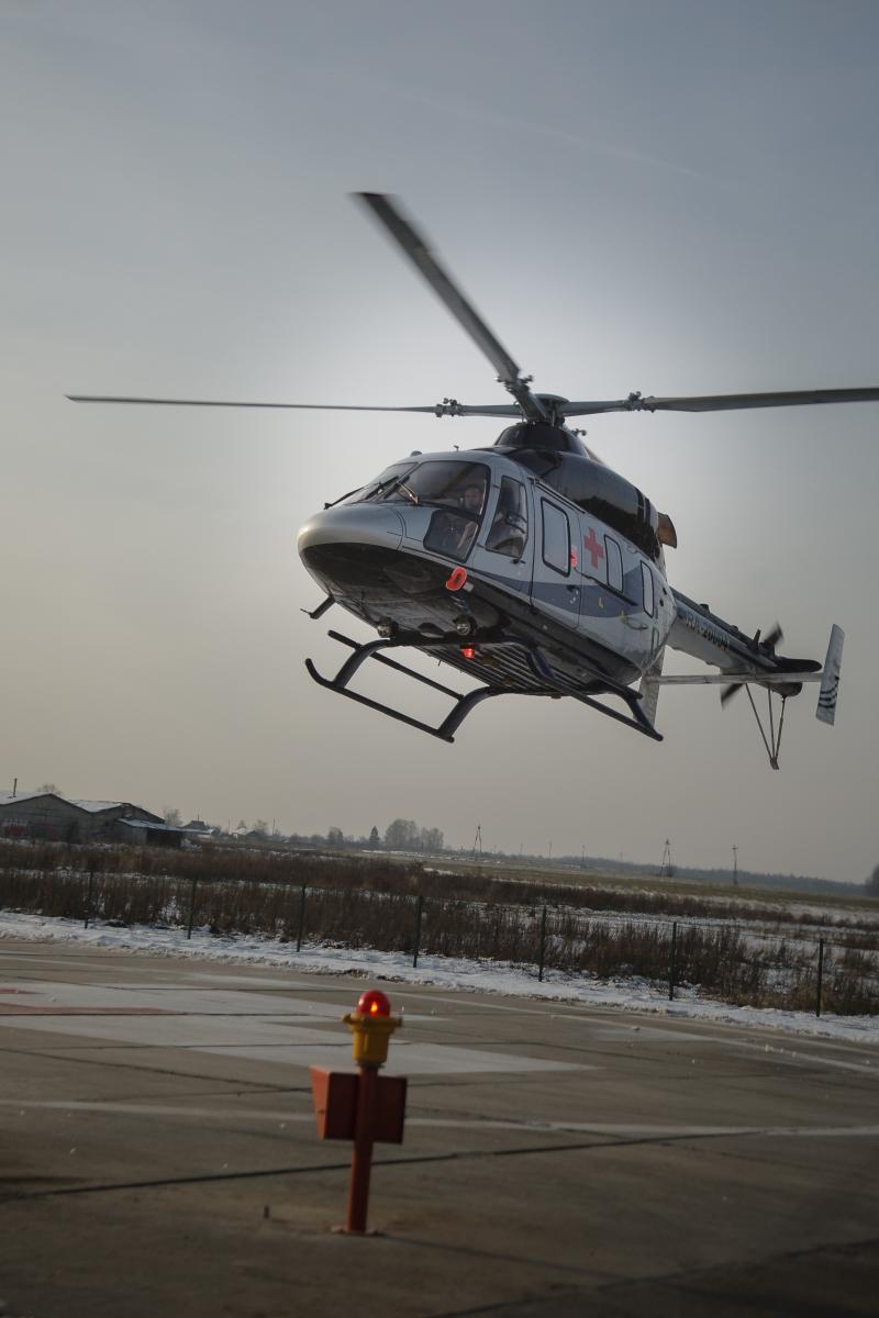 «Вертолёт над городом? Это спасают чью-то жизнь!»