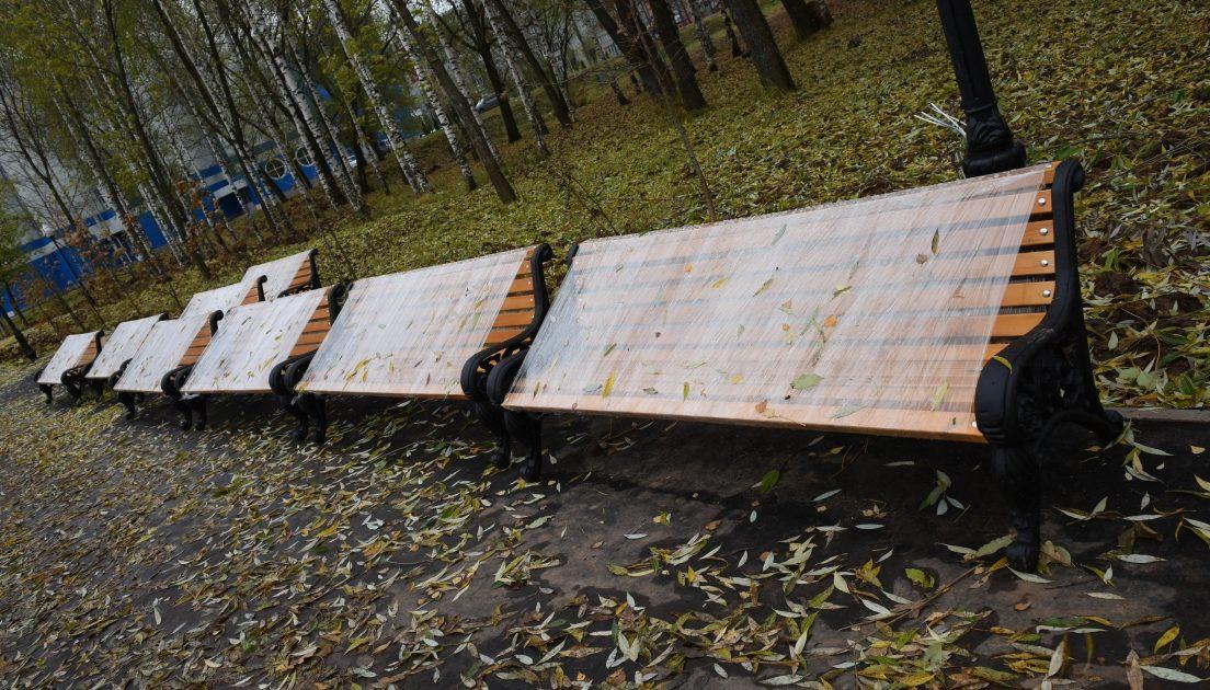 Мэрия рассчитывает принять работы вКочуровском парке доконца недели