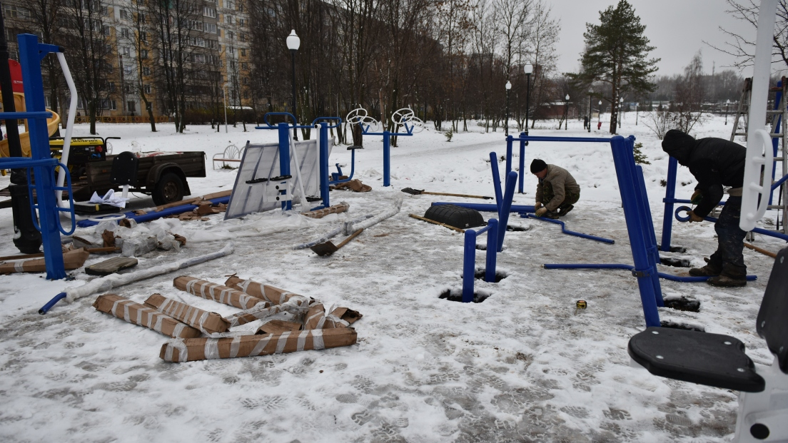 В Кочуровском парке будет инклюзивная спортплощадка