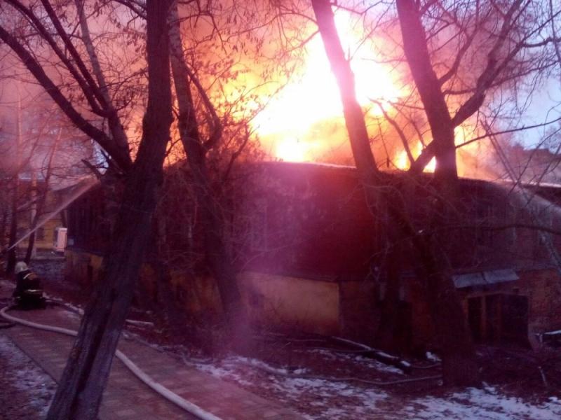 В центре Кирова потушен сильнейший пожар (+ФОТО)