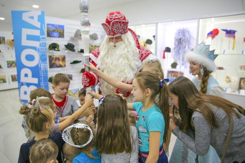 Всероссийский Дед Мороз побывал в Вятских Полянах