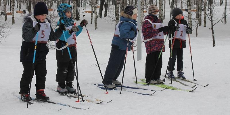 В Кочуровском парке торжественно открыли лыжню