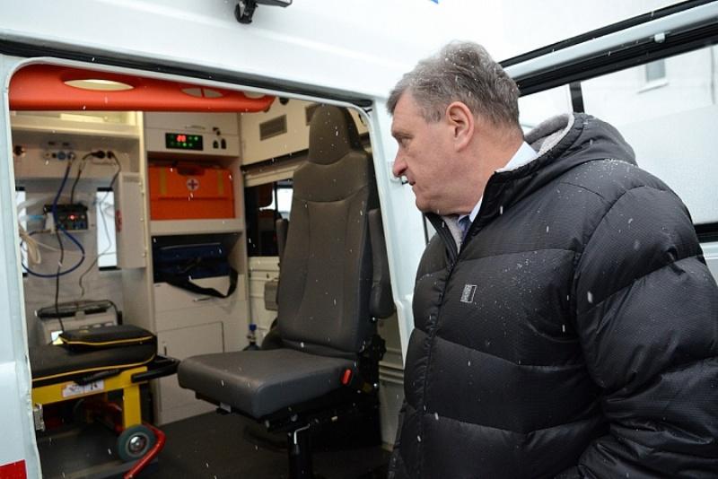 28 новых автомобилей получила кировская Станция скорой медицинской помощи