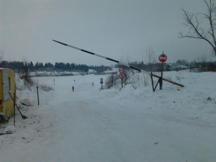 В Малмыжском районе открыта первая в этом сезоне ледовая переправа