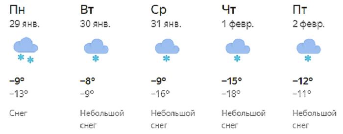 В начале февраля в Кирове похолодает