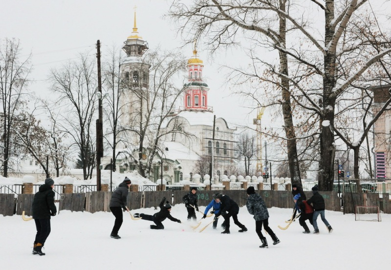 В Кирове пройдет Рождественский турнир по хоккею в валенках