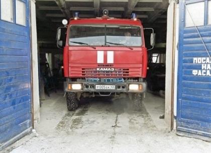Пожарную автоцистерну из Лянгасово передадут в поселок Вахруши