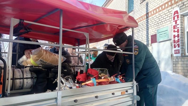 В Уржумском районе вручили пожарный пост
