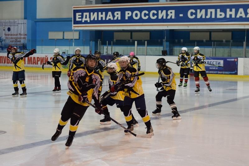 Кировские «Ангелы» взяли серебро турнира ПФО по хоккею среди женских команд