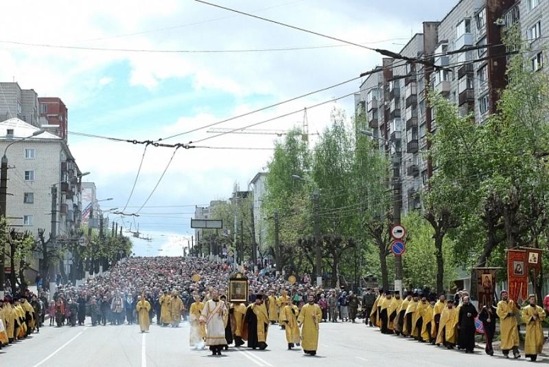 Облправительство рассчитывает, что Великорецкий крестный ход наберет 70 тыс. человек
