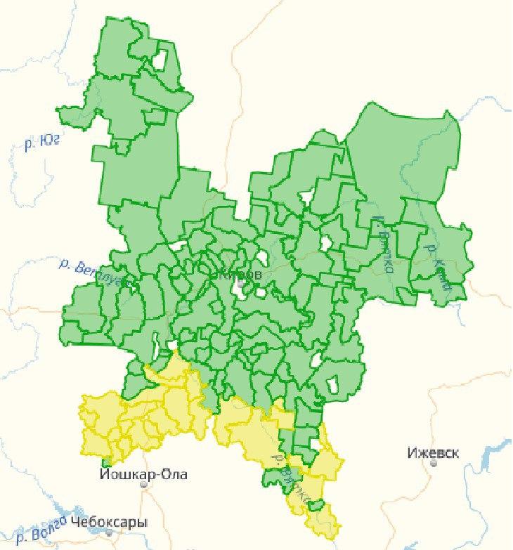 В Кировской области утвердили деление охотугодий на зоны