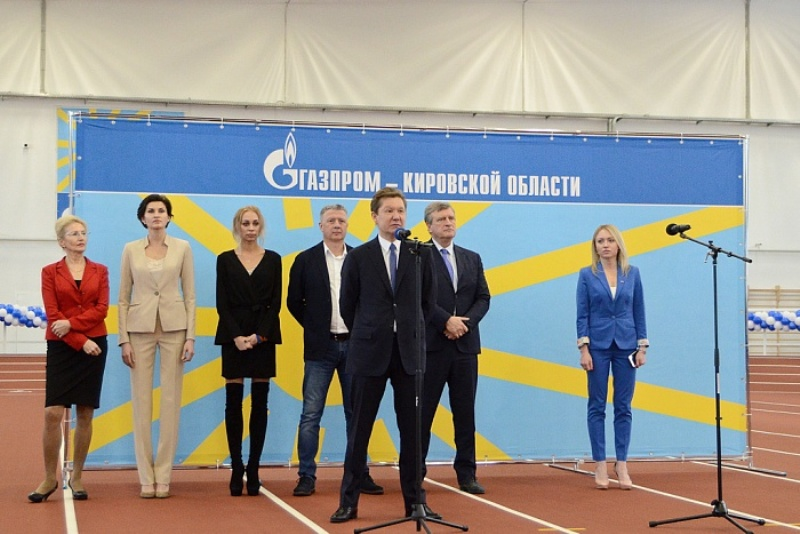 Состоялось официальное открытие легкоатлетического манежа «Вересники»