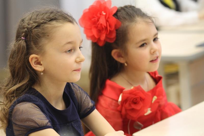 Урванцево: Новый год в новой школе