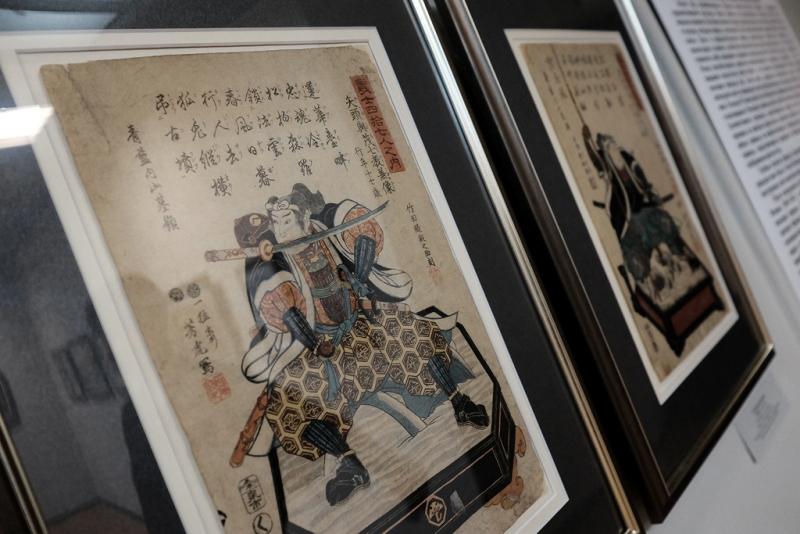 В Вятском художественном музее развёрнута выставка «Японская гравюра XIX века из частных коллекций»