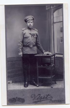 Семен Боков, георгиевский кавалер